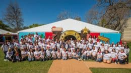 Disney VoluntEARS brought the magic of Disney to City of Hope patients, staff and their families at ToyFest