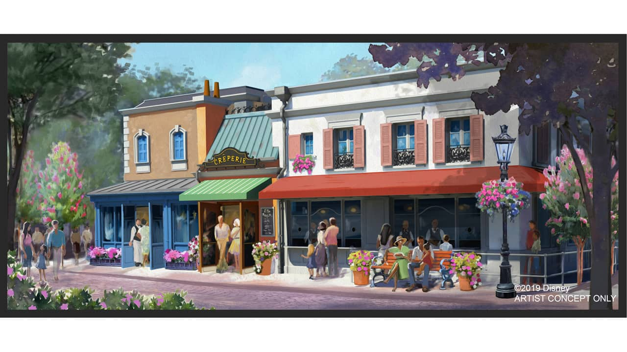 New creperie coming to France pavilion