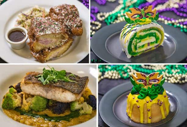 Mardi Gras Offerings at Disneyland Park