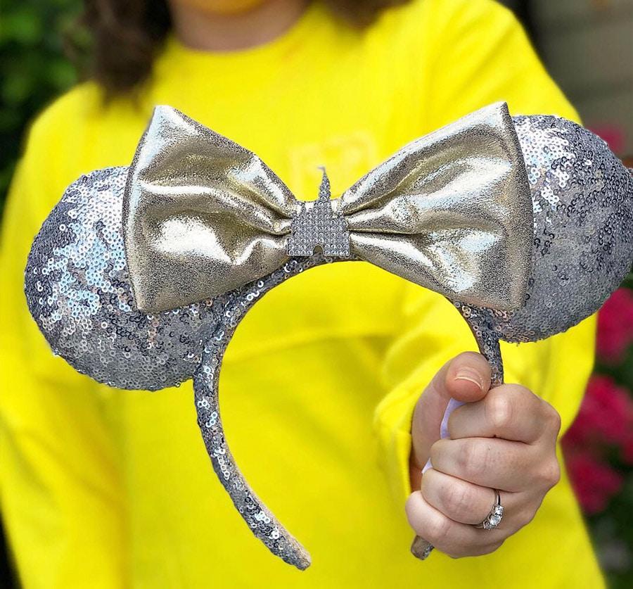 Castle Minnie ear headband