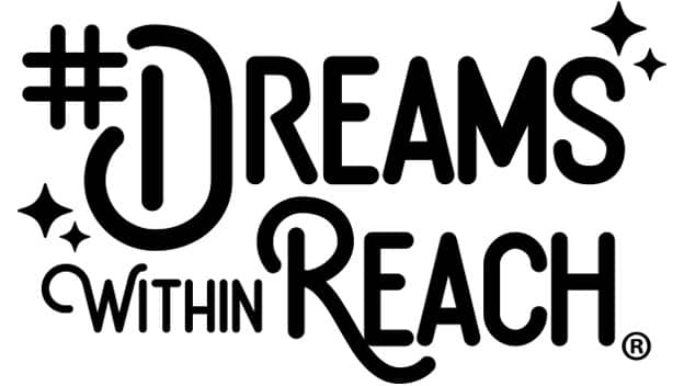 Dreams Within Reach hashtag logo