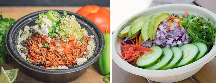 Food Bowls from Disney Springs