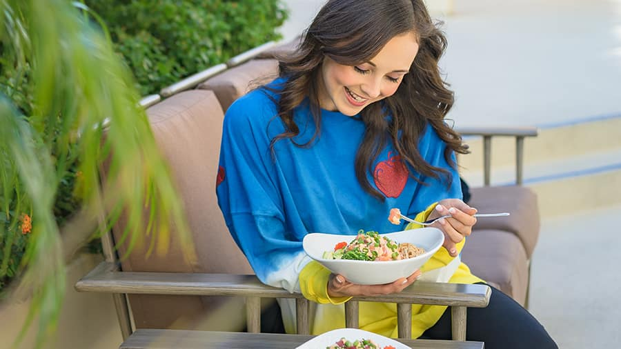 Build-Your-Own Poke Bowl from Surfside Lounge at Disney's Paradise Pier Hotel