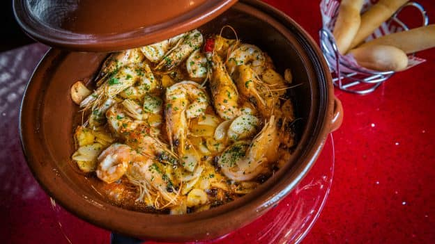 Garlic Shrimp from Jaleo at Disney Springs