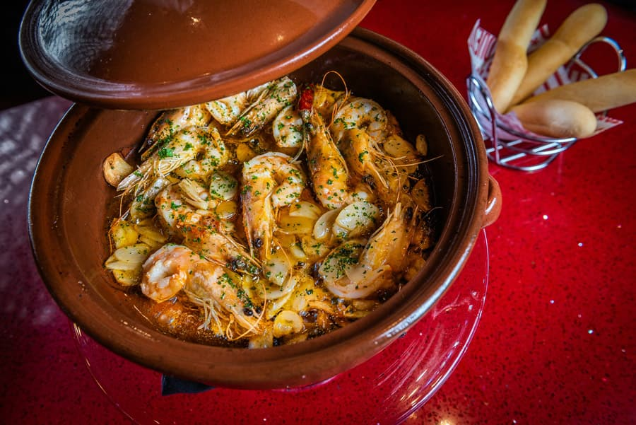 Garlic Shrimp from Jaleo at Disney Springs