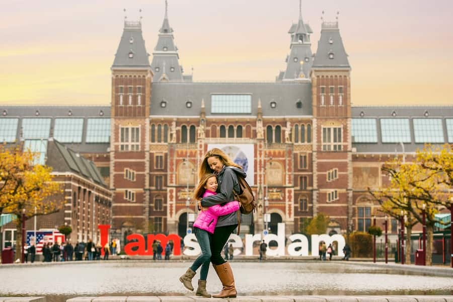 Family in Amsterdam