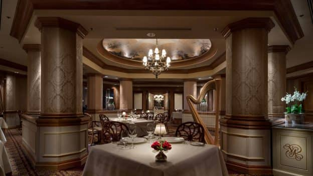 Victoria & Albert's Dining Room at Disney's Grand Floridian Resort & Spa