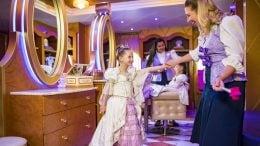 New Signature Rapunzel Makeover Debuts at Bibbidi Bobbidi Boutique Aboard Disney Ships