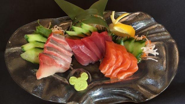 Sushi Served in 'Olelo Room at Aulani, A Disney Resort & Spa