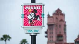 New Minnie Mouse section of Disney's Hollywood Studios parking lot