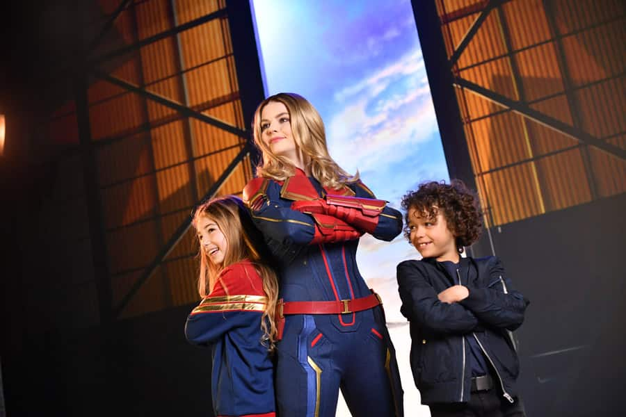 Encounter Captain Marvel during Marvel Season of Super Heroes at Disneyland Paris
