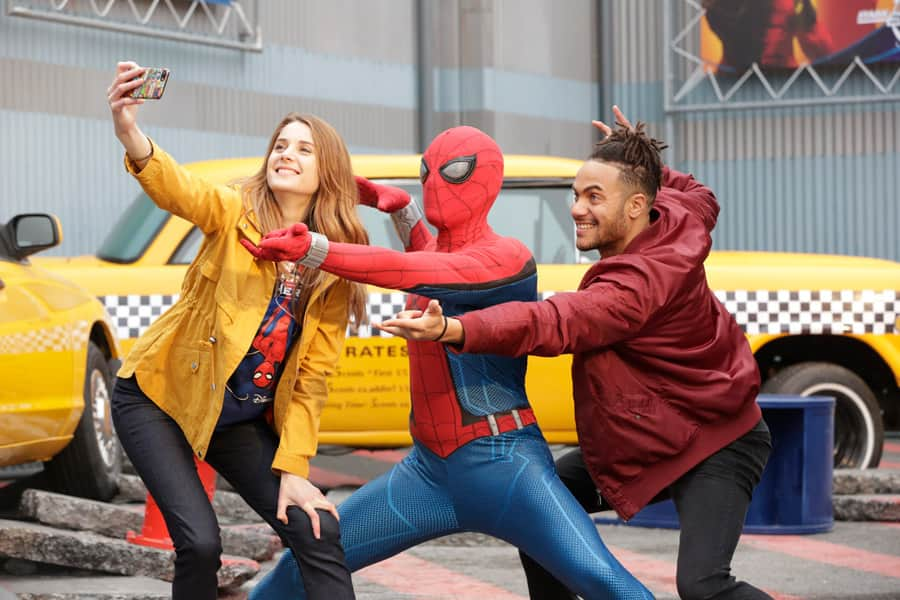 Encounter Spider-Man during Marvel Season of Super Heroes at Disneyland Paris