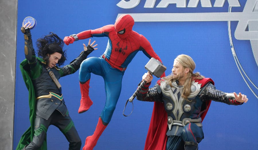 Loki, Spider-Man and Thor in Stark Expo: Make Way for a Better Tomorrow!
