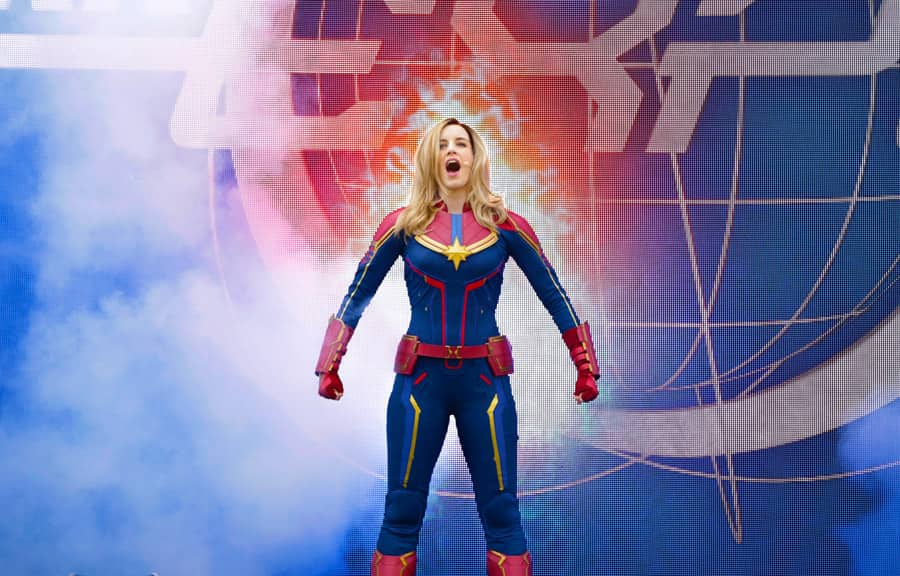 Captain Marvel in Stark Expo: Make Way for a Better Tomorrow!