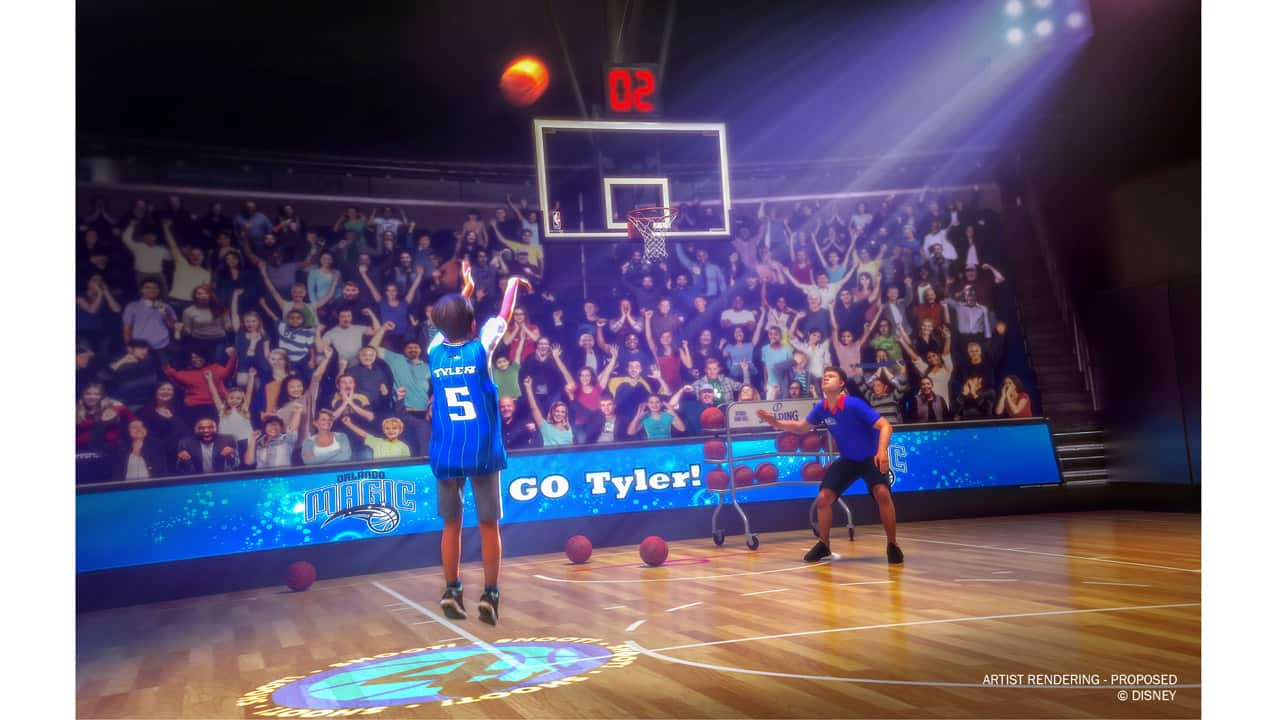 competitive price 06ff6 0e743 Alley-Oop! NBA Experience Will Open August 12 at Disney ...