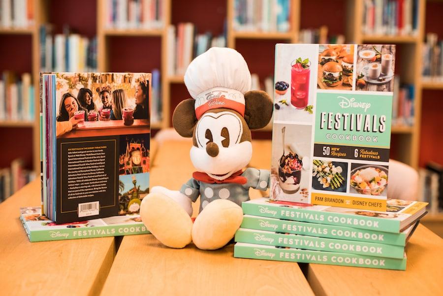 Disney Festivals Cookbook 2019