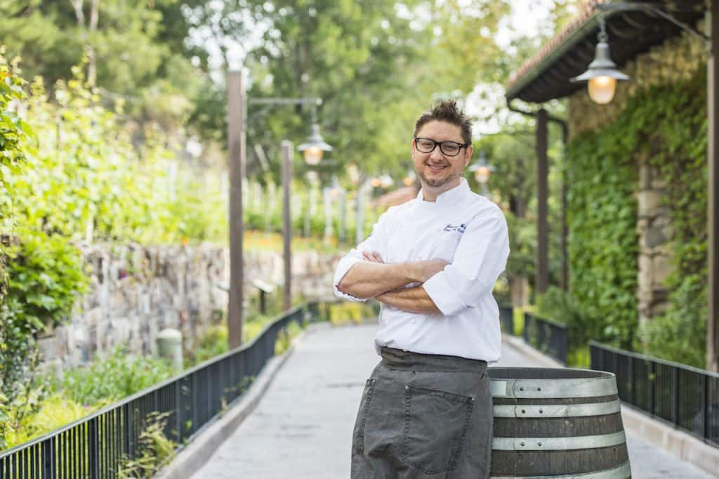 Chef de Cuisine Jimmy Weita for Park Events and Festivals at Disneyland Resort