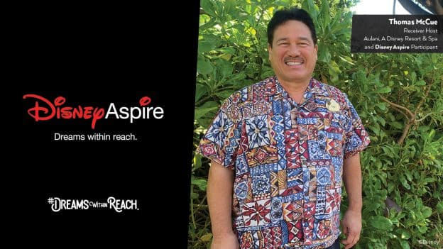 Dreams Within Reach: Aulani Cast Member Heads Back to School with Disney Aspire