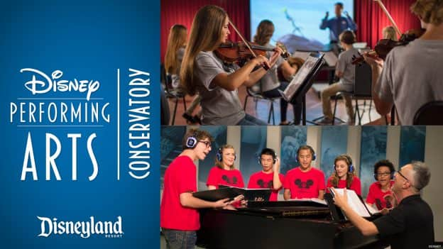 Disney Performing Arts Conservatory Returns to Disneyland Resort This Summer