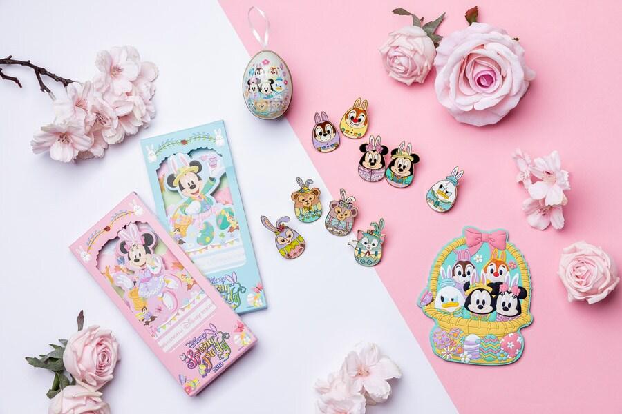 Spring merchandise items at Shanghai Disneyland