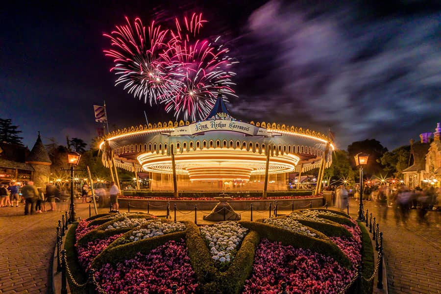 Disney Parks After Dark: 'Mickey's Mixed Magic' over King Arthur Carrousel 6 of 6
