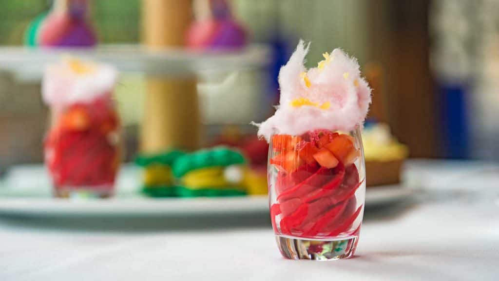 Strawberry Honey Sorbet from Disney Princess Breakfast Adventures at Napa Rose at Disney's Grand Californian Hotel & Spa