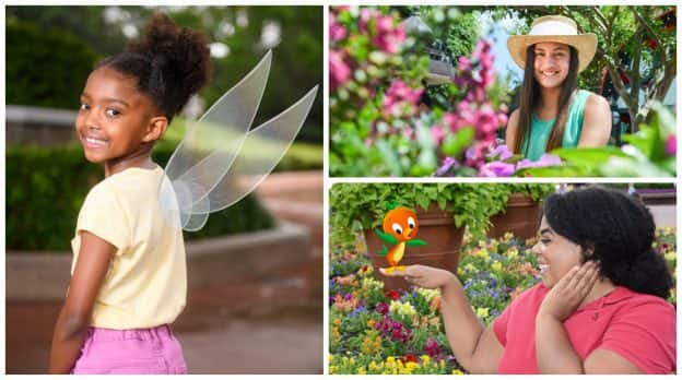 Epcot International Flower & Garden Festival Disney PhotoPass Guide