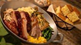 Traditional Dinner Skillet from Whispering Canyon at Disney's Wilderness Lodge