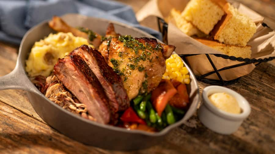 Signature Lunch Skillet from Whispering Canyon at Disney's Wilderness Lodge