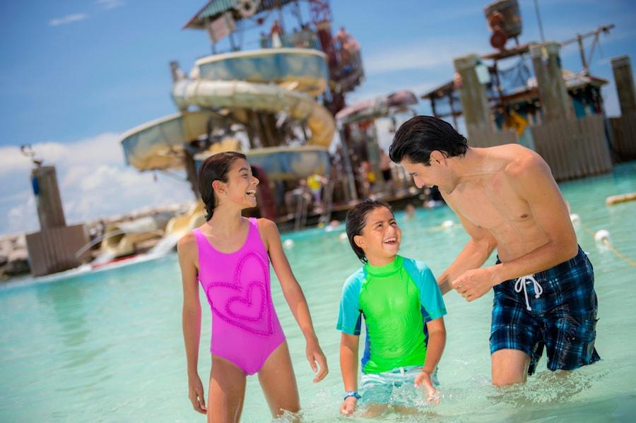Family at Castaway Cay