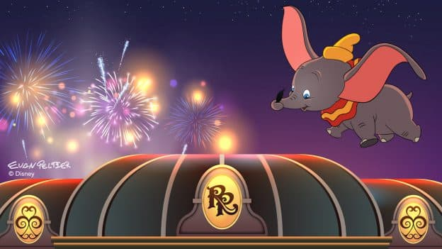 Dumbo soars over Disney's Riviera Resort