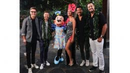 American Idol Cast at Aulani