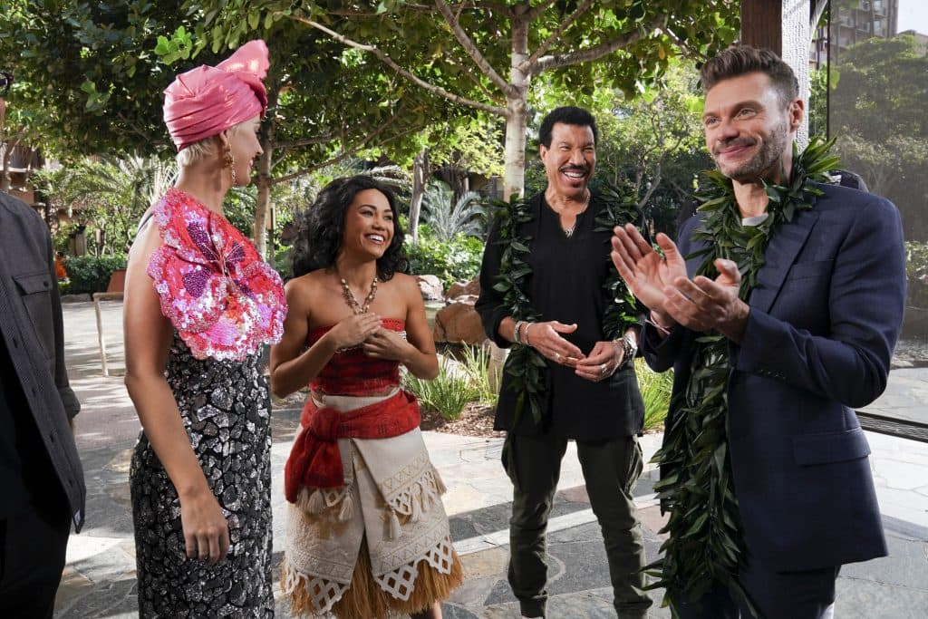 KATY PERRY, MOANA, LIONEL RICHIE, RYAN SEACREST