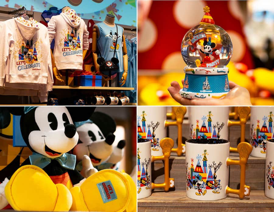 Mickey Mouse Merchandise from World of Disney