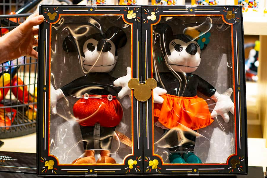 limited release Mickey and Minnie Mouse plush doll set