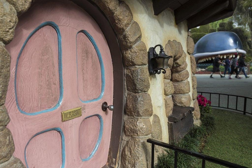 White Rabbit's House in Fantasyland at Disneyland Park