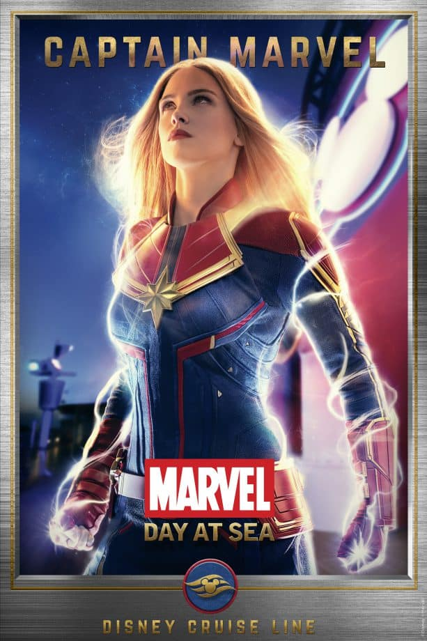 Meet the Super Heroes of Marvel Day at Sea: Captain Marvel