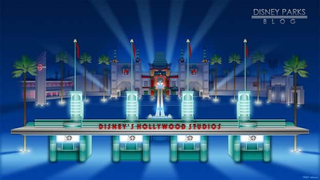 Disney's Hollywood Studios 30th Anniversary Wallpaper 1366x768