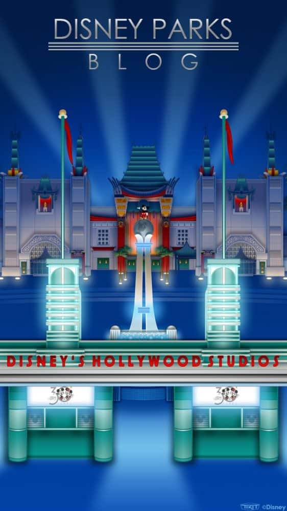 Disney's Hollywood Studios 30th Anniversary Wallpaper 640x1137