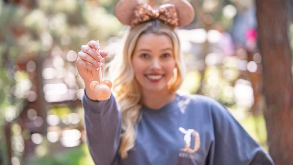 Briar Rose Gold Cake Pop at Disneyland Resort