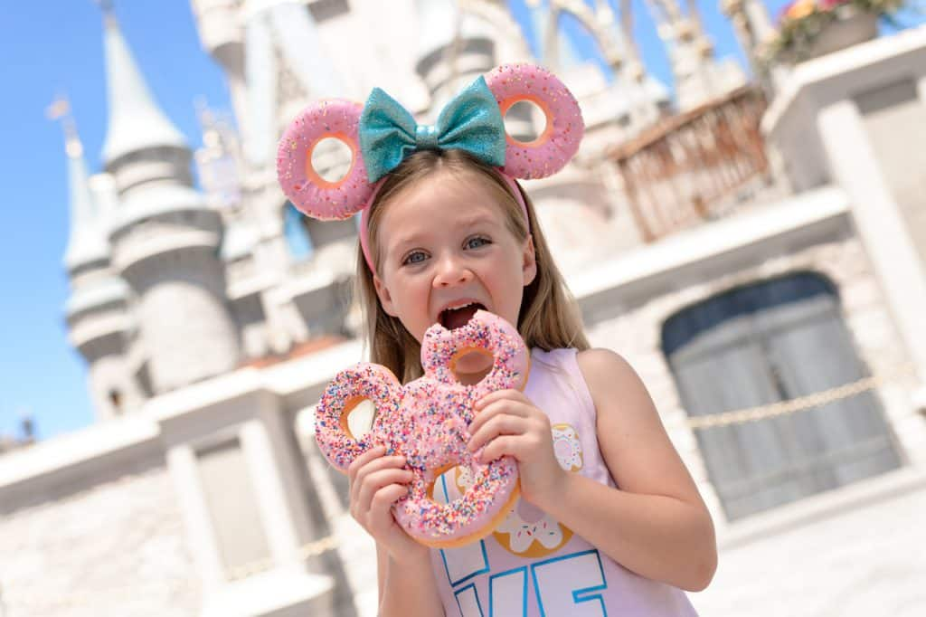 Mickey Celebration Donut from The Lunching Pad at Magic Kingdom Park