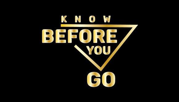 Know Before You Go logo