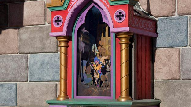 Clopin's Music Box inside Disneyland park