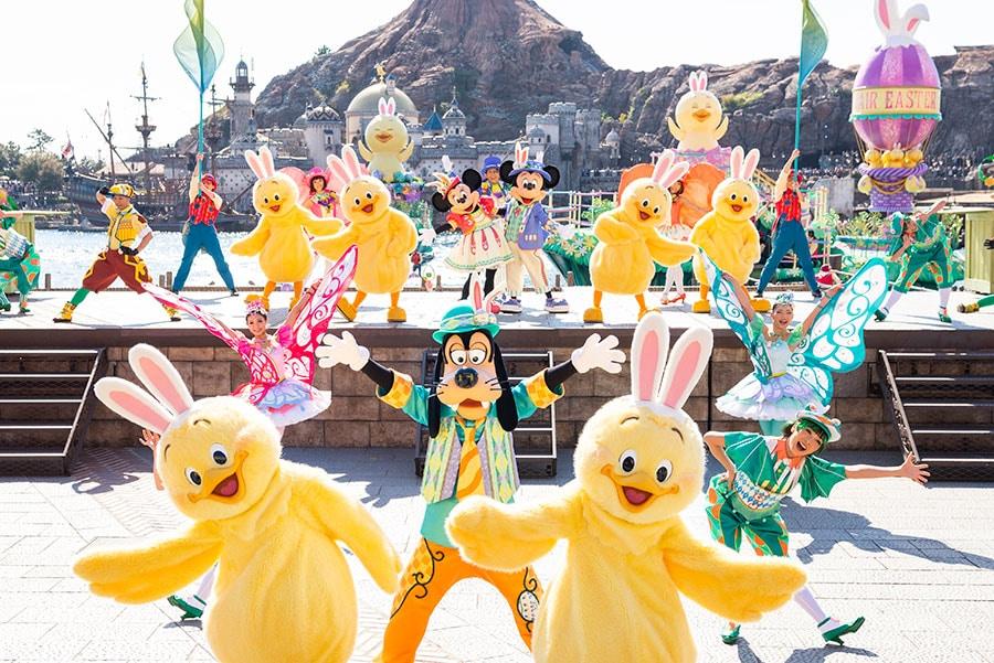 Easter celebration, Tokyo DisneySea