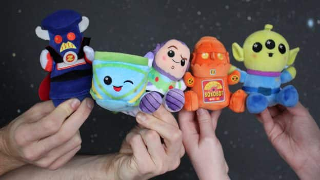 New Wishables Buzz Lightyear Attraction Collection Launches at Disneyland, Walt Disney World Resorts