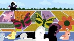Disney Doodle: Pegasus Explores The Epcot International Flower & Garden Festival