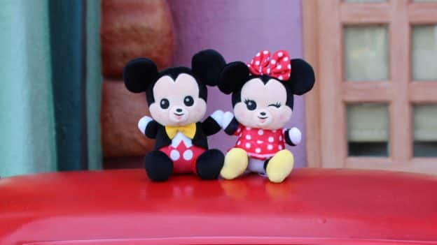 Disney Parks Wishables - Mickey Mouse and Minnie Mouse