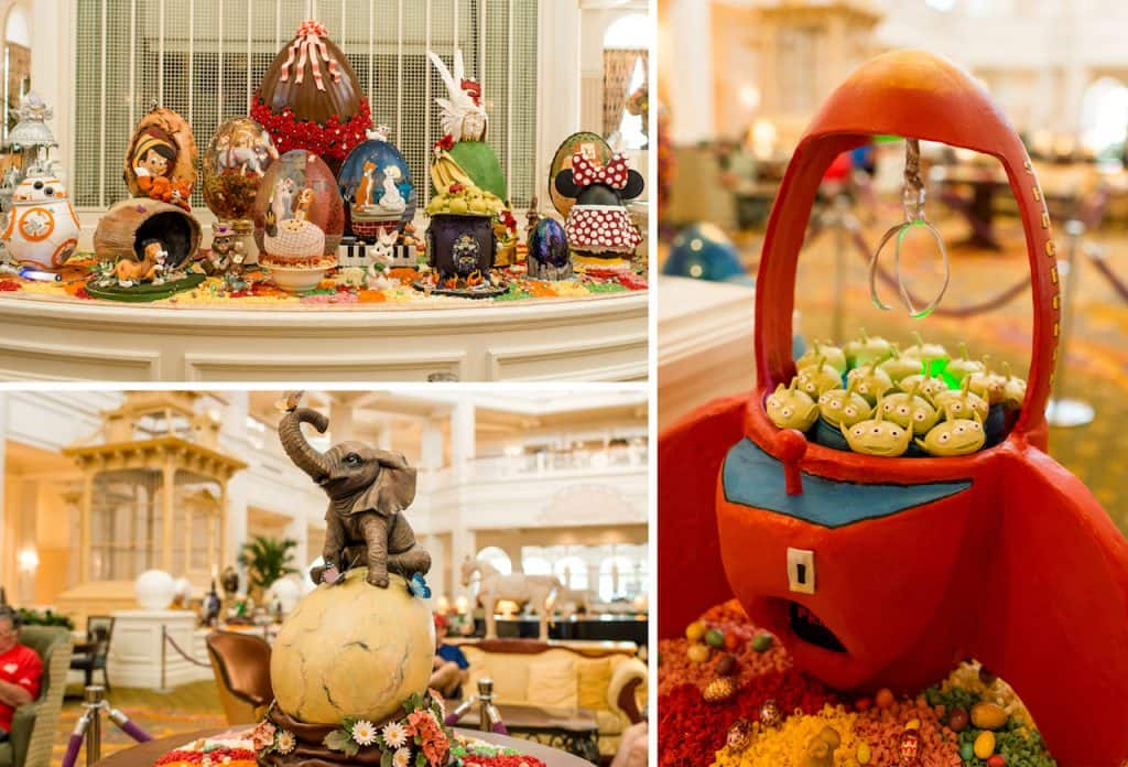 Disney's Grand Floridian Resort & Spa 2019 Easter Egg Display