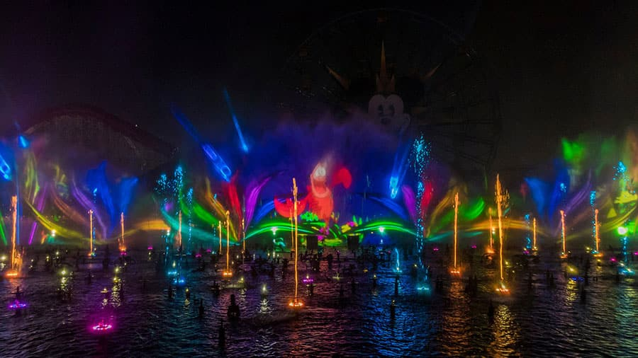 """World of Color"" show at Disney California Adventure park"