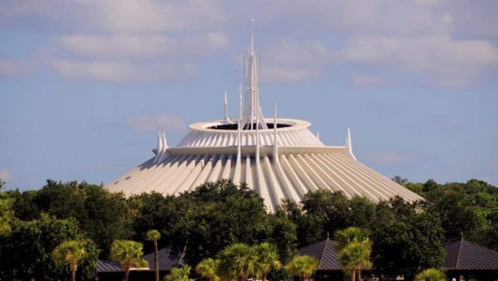 Space Mountain at Magic Kingdom Park